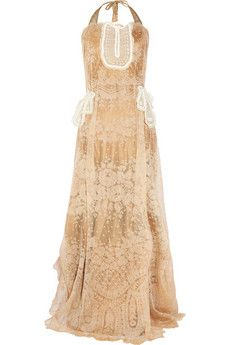 One Vintage Randy gown   NET-A-PORTER