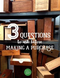 3 questions I ask myself before buying something   The Art of Simple