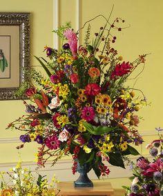 big flowers arrangements