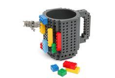 Build-On Brick Mug  A coffee cup that'll entertain you through meetings