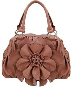 Leather Flower Bag!