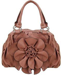 Leather Flower Bag!