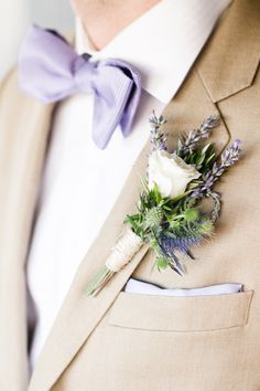 #boutonniere  Photography by aureliadamore.com  Event Planning by amazinggracedesign.com  Floral Design by hiddengardenflowers.com    Read more - http://www.stylemepretty.com/2013/06/07/malibu-wedding-from-aurelia-damore/