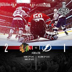 Stanley Cup Game 4  -   6/10/15.  Series tied 2-2.