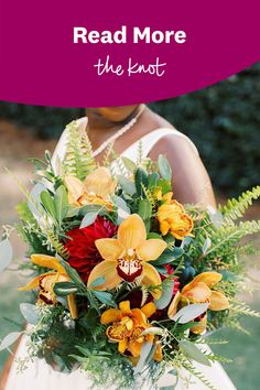 This beautiful orange orchid wedding bouquet was featured in a real wedding from Charlotte on The Knot. In love with orange wedding flowers? Check these out and pick the ones for your fall wedding. Orchid Bouquet Wedding, Orange Wedding Flowers, Wedding Ceremony Flowers, Bridesmaid Bouquet, Chic Wedding, Fall Wedding, Our Wedding, Orange Orchid, New York Bride