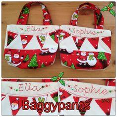 Christmas gift bags from Baggypants