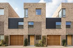 Abode, Great Kneighton, Cambridge, UK.  308 units offering a unique and welcoming sense of place, but you could see two units here as well :)