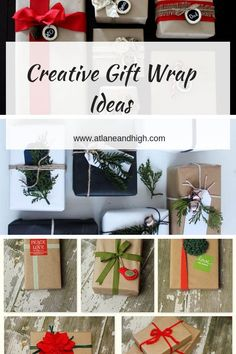 For amazing DIY Gift Wrap Ideas you need to look no further! Here you will find great ideas to create amazing Christmas Gift wrapping for all your friends and family. Christmas Gift Wrapping, Diy Christmas Ornaments, Christmas Gifts, Christmas Decorations, Christmas Tablescapes, Merry Christmas, Creative Gift Wrapping, Creative Gifts, Wrapping Ideas