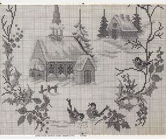 Church in the Snow • 3/3 Lower Chart