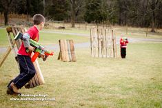nerf gun obstacle course - Google Search