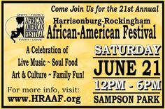 Harrisonburg-Rockingham African-American Festival - Saturday, June 21, 2014