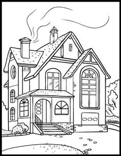 App to make photos into coloring pages ~ Street Corner ~ Adult Coloring Pages | Pat Catan's Blog ...