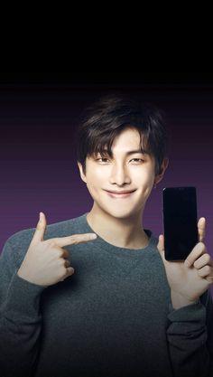 LG Smart World App: BTS Value Pack Home theme - #RM