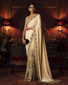 #Sabyasachi #Couture2016 #FIRDAUS #ClutchBySabyasachi #WinterWeddings #KishandasForSabyasachi #HandCraftedInIndia #TheWorldOfSabyasachi @kishandasjewellery @sabyasachiofficial @sabyasachiaccessories