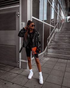 119 stylish fall outfits to copy – page 40 Street Style Outfits, Mode Outfits, Short Outfits, Trendy Outfits, Fall Outfits, Fashion Outfits, Fashion Killa, Look Fashion, Daily Fashion