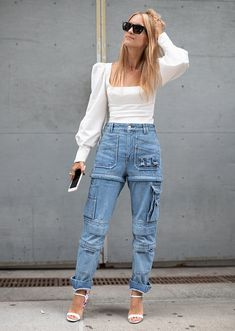 70032ecc10d 6 Spring Denim Trends You re About to See Everywhere  purewow  style