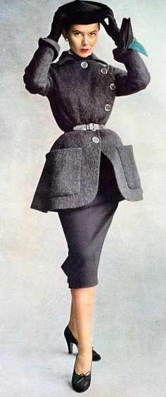 Christian Dior, 1950's Our inspiration for the pencil skirt                                                                                                                                                                                 More