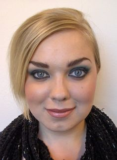Smoky eyes. MUAH & photo: Marja Perälä, model: Venla