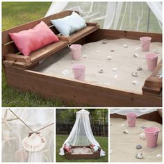 Bring the Beach in Your Backyard – Amazing DIY Sandbox