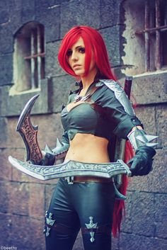 League of Legends - Katarina -02- by beethy on deviantART