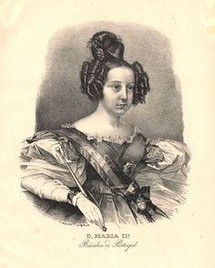 D.Maria II Rainha dos portugueses