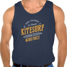 Kitesurf Command The Beach Extreme Sport Tanktops Tank Tops