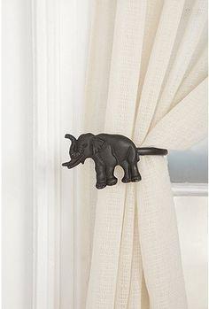 @Kristján Örn Kjartansson Johnson perhaps to go with you elephant lamp? :) Urban Outfitters Elephant Drape Tie-Back