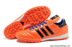 new arrival b3c5e 4d607 Soccer Shoes Orange Blue 2014 Brazil World Cup Adidas Copa Mundial TF For  Wholesale Adidas Football