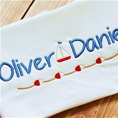 """Oliver planet applique, $1.49 avg. upper, lower # w boat & buoy line, 1, 1.5 and 2"""""""