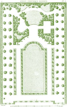 Antique Garden Plans