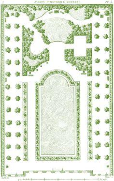 Antique Garden Plans