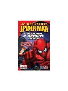 Spiderman Coloring & Activity Book Bendon Publishing http://www.amazon.com/dp/B004C6LXTU/ref=cm_sw_r_pi_dp_h8xvub14806C9