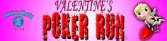 February 11, 2012 @ 8:00 am.  Sign up today: http://valentinespokerun.eventbrite.com/?ref=ecount
