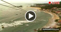 Veduta mozzafiato sulla teleferica a strapiombo sul mare di Morro de São Paulo