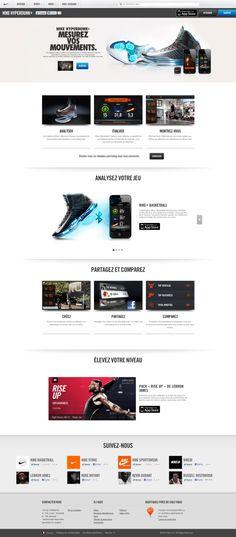 #nike #webdesign on #Twitpic