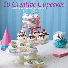 10 Creative Cupcakes to Celebrate the End of School: http://di.sn/aCe