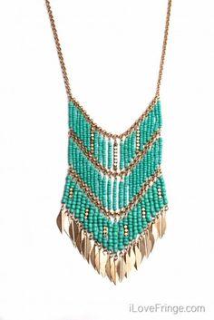 Navajo inspired necklace