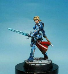 Joan of Arc. Infinity miniatures by Studio Giraldez