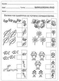 Atividades Para Turminha Do Jardim 4 A 5 Anos Crianças