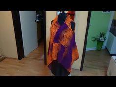 Tunesisch Häkeln - Zipfel - Weste BRIXEN - Woolly Hugs BANDY Veronika Hug - YouTube