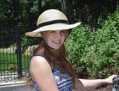 Pretty                                  Straw Bike Helmet | Bandbox Charleston Bike Helmet Hat