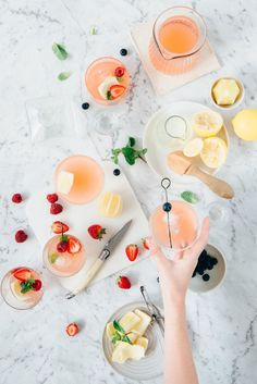 Gin + Grapefruit Summer Soda | Cocktail recipes