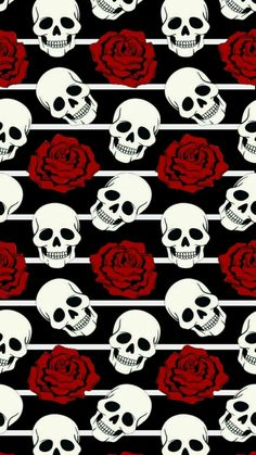 Wallpaper Kawaii, Skull Wallpaper, Dark Wallpaper, Computer Wallpaper, Aesthetic Iphone Wallpaper, Wallpaper Backgrounds, Superman Wallpaper, Skeleton Art, Skulls And Roses