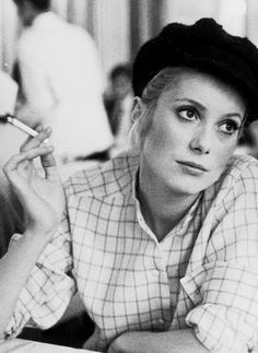 Catherine Deneuve. Les Demoiselles de Rochefort 1966.
