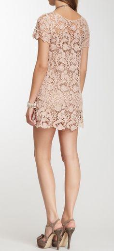 Crochet lace mini