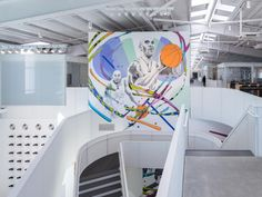 How this LOHA-designed space enables Nike to streamline their brand imagery operations Eric Owen Moss, Corporate Interiors, Video Studio, Enabling, Nike, Space, Architecture, Programming, Studios