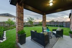Just think, this could be your backyard! See it at #bayrivercolony #Baytown today! www.greenecobuilds.com