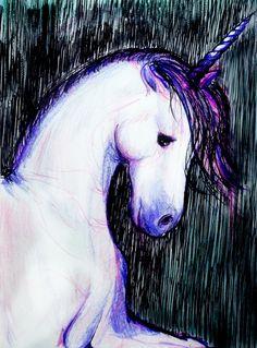 my unicorn #magic #art