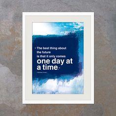 Inspirational poster. Inspiring quote modern art by inspiring4U, $26.00