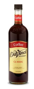 CLASSIC COFFEE SYRUP: Sweetened flavor of brewed coffee. Made with pure cane sugar.